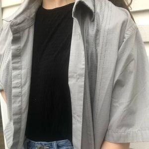 Van Heusen Oversized Button Down Shirt
